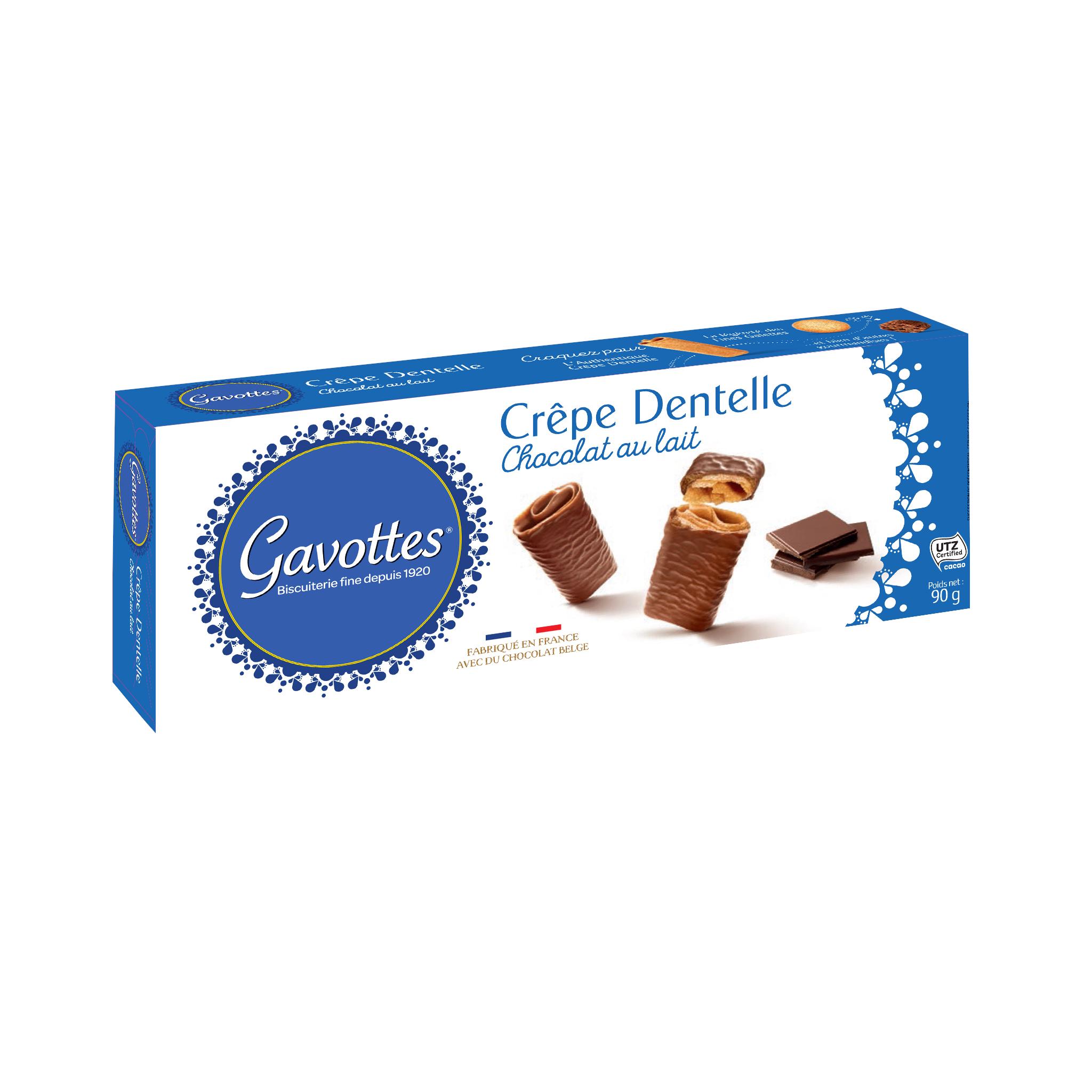 19/ Crêpes med melkesjokolade, 90g - Gavottes