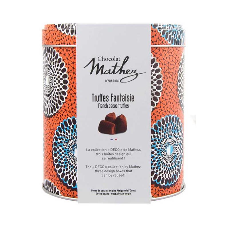 07/ Sjokoladetrøfler naturell, 250g - Mathez