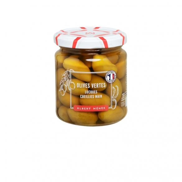10/ Grønne oliven fra Lucques 225g - Albert Ménès