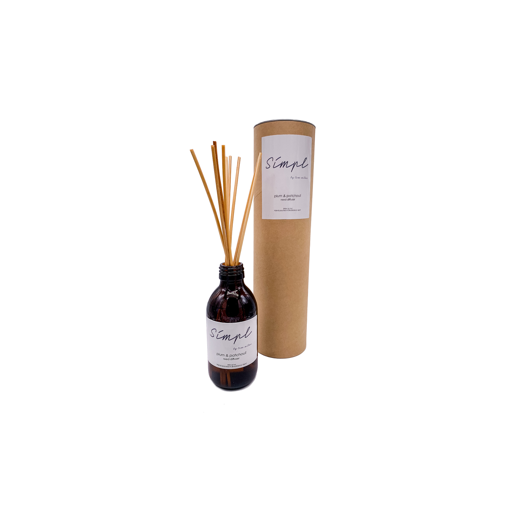 Simpl | Tom Milne - Plum and Patchouli Reed Diffuser