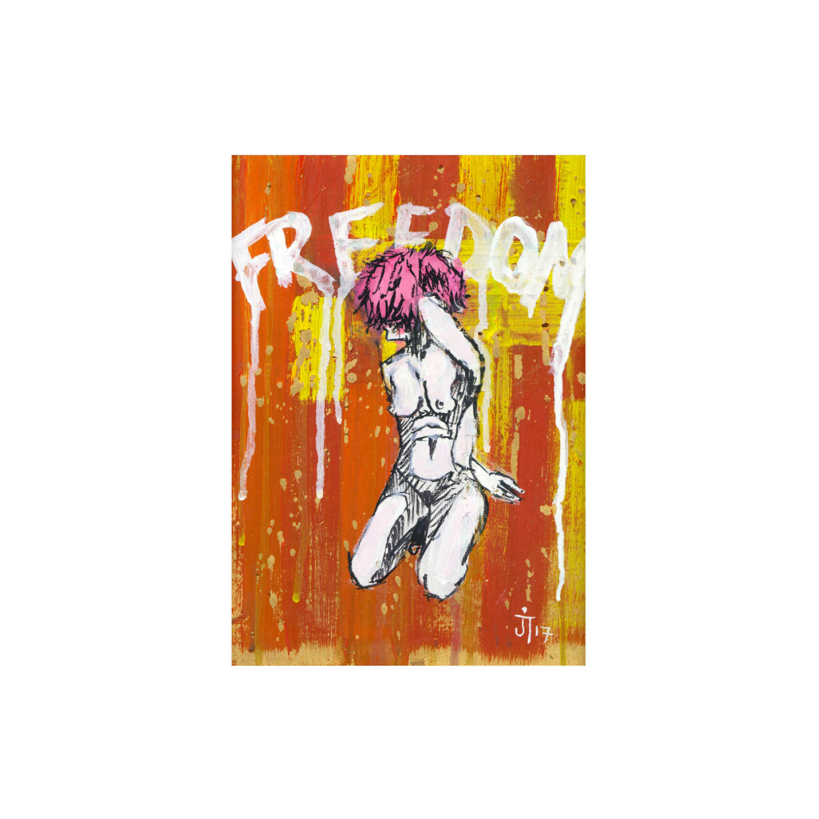 James Tomlinson - Freedom Print