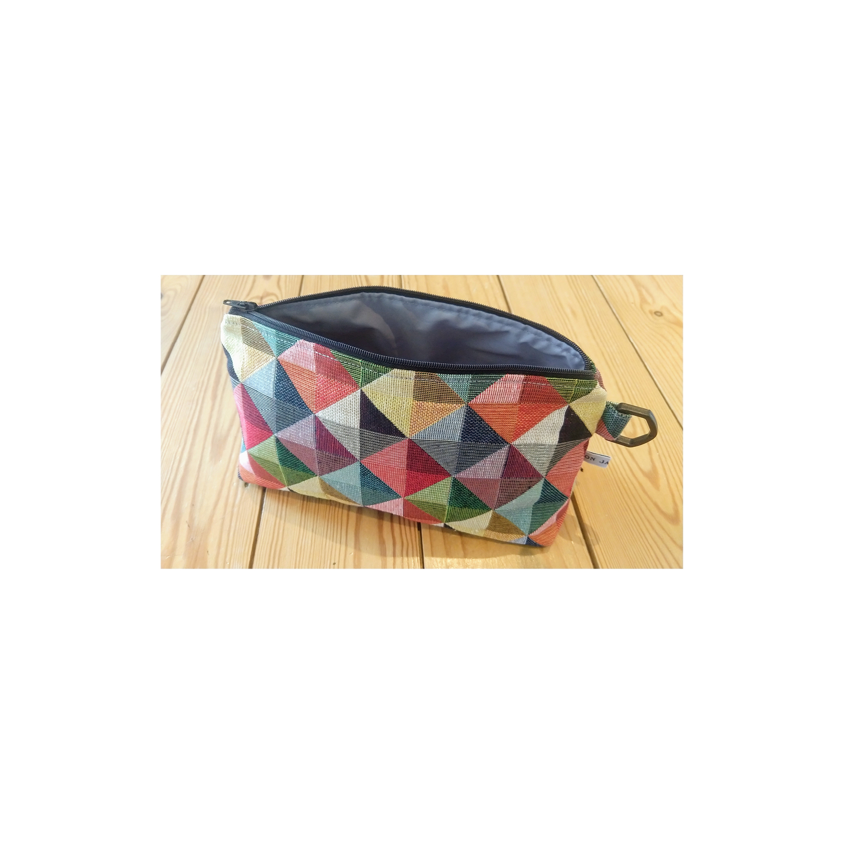 Ton Janmaat - Fabric wash bag Small