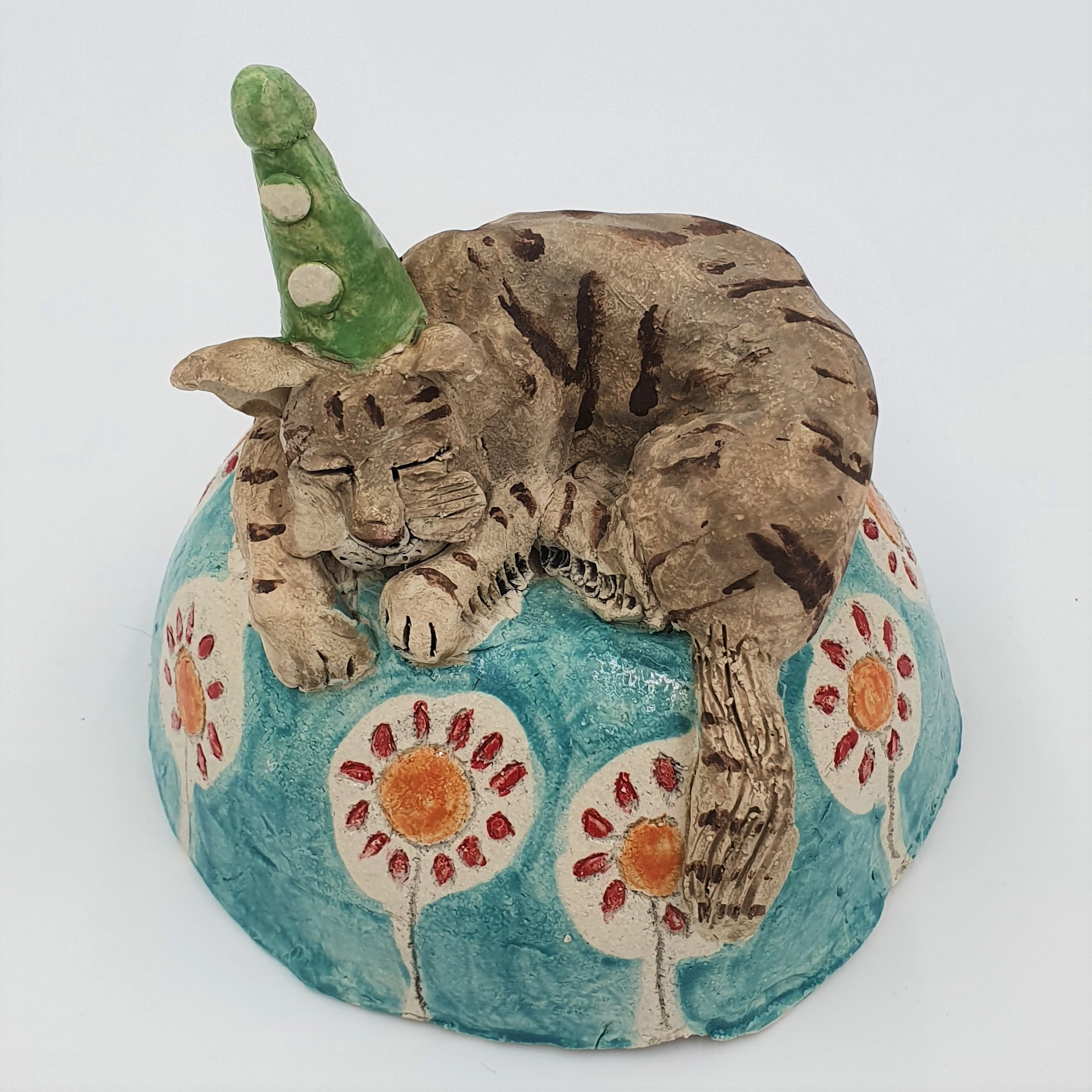 Helen Jewsbury Cat on Dome
