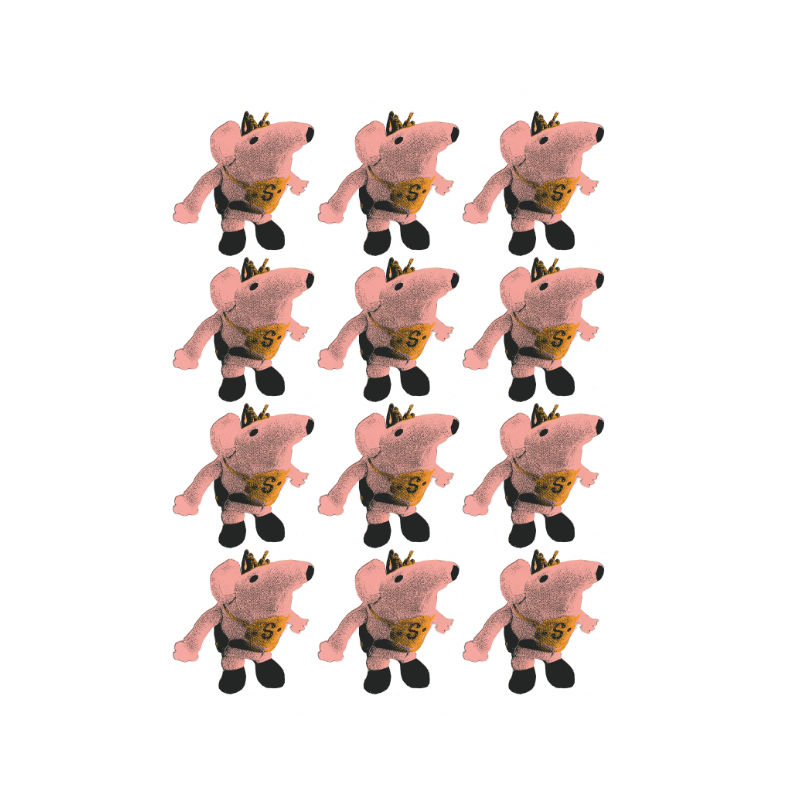 Carrie Warrior - clanger tea towels