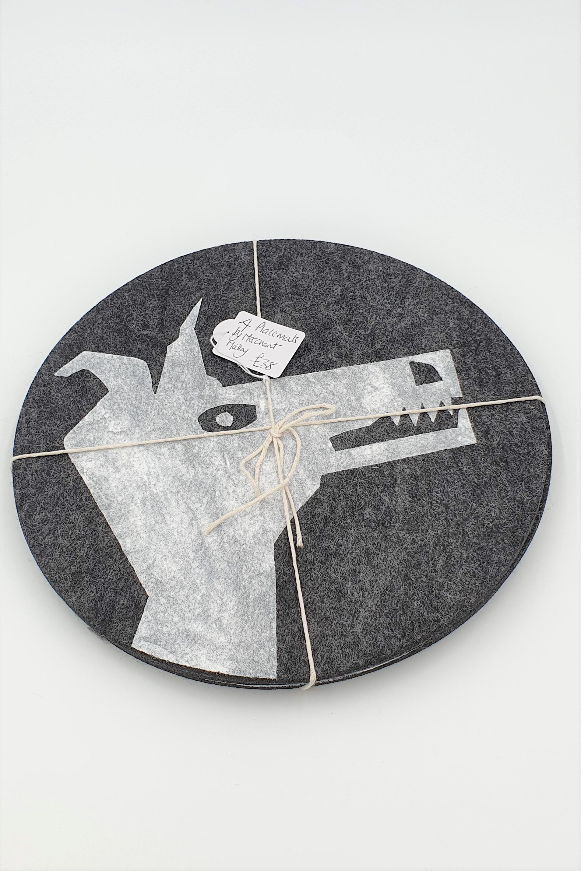 Merchant Malloy  Artic fox placemats