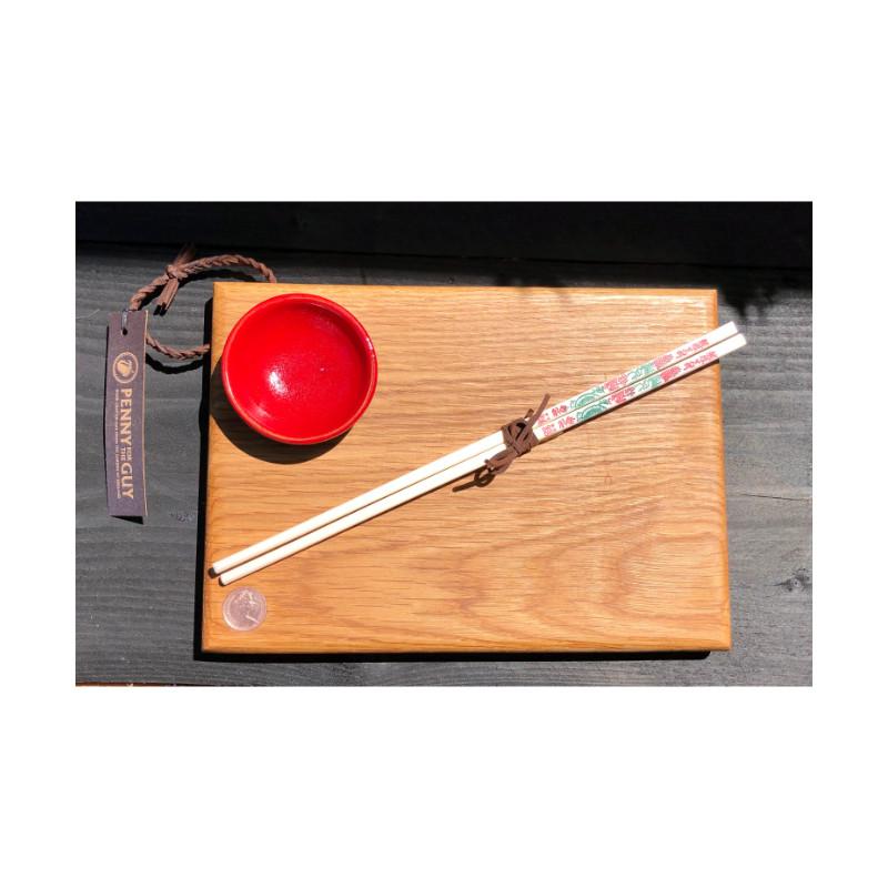Guy Landymore - Sushi board & chopsticks