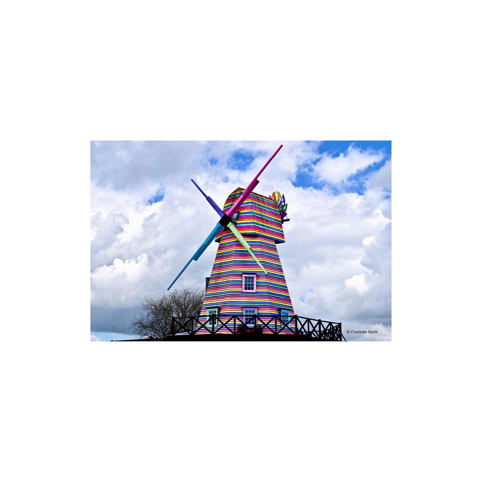 Charlotte North - Rye Windmill Print