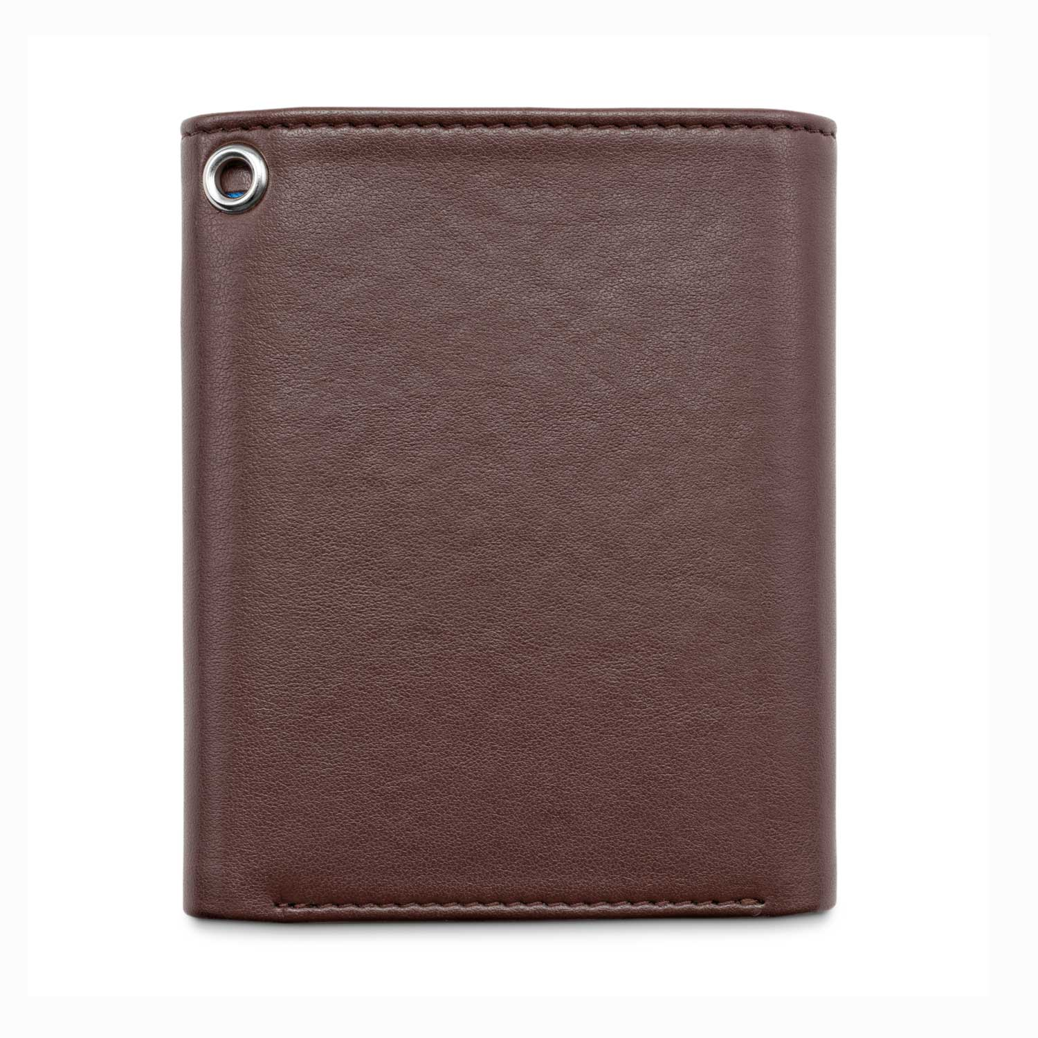 Watson & Wolfe - Trifold Wallet With Chain Eyelet