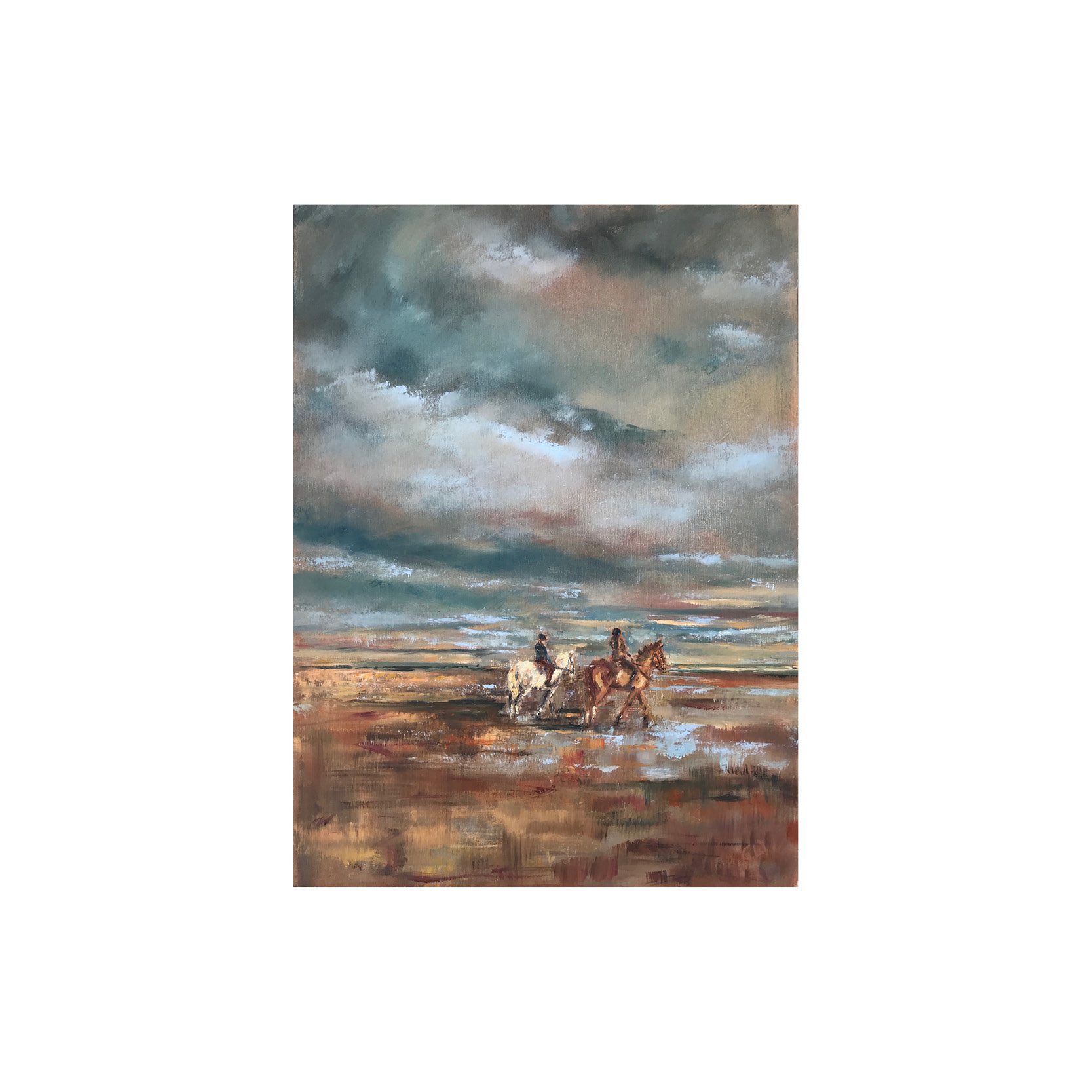 Georgie Watson - Riders on the Storm Print