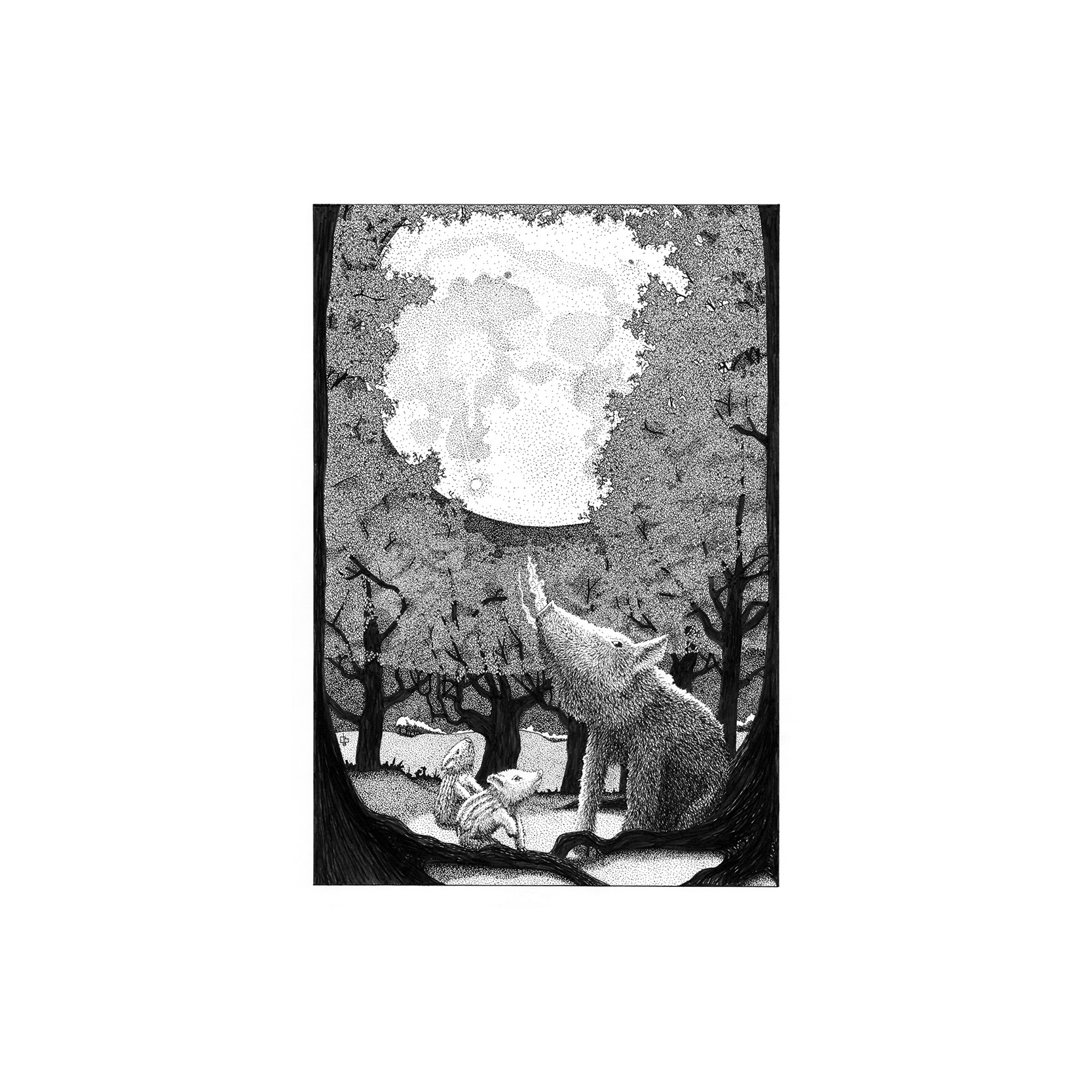 Chris Booth - The cold night print