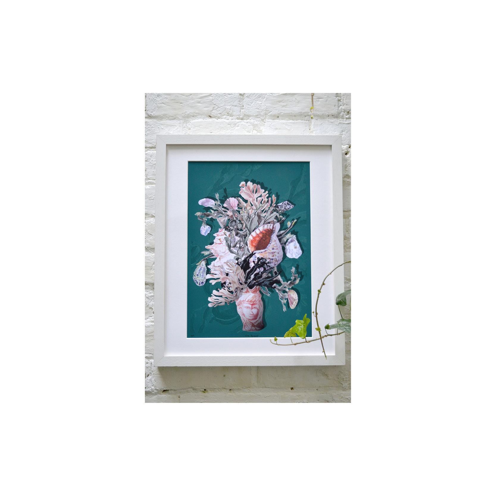 Morokoth - Etna Bouquet print