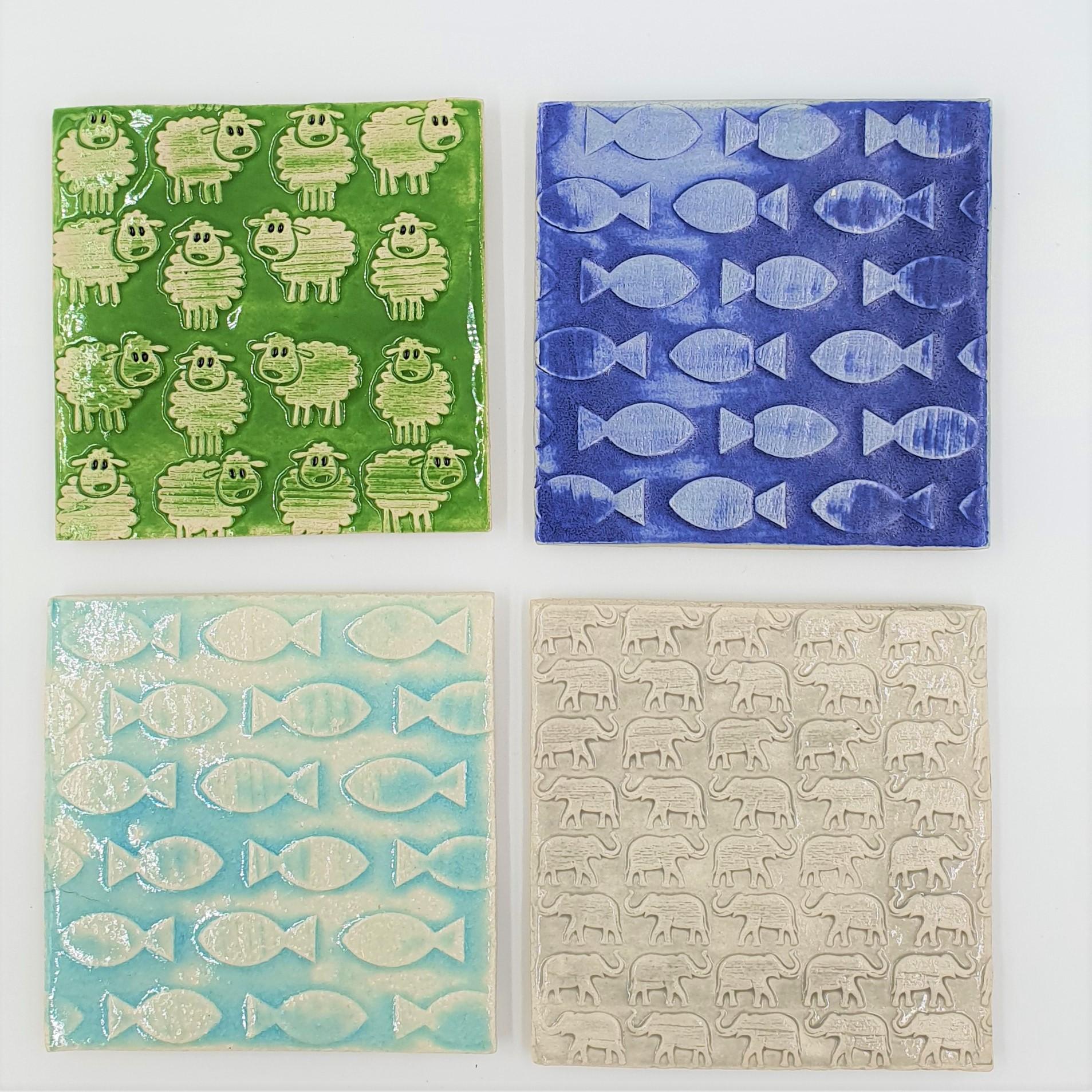 Ethel's Ceramic Coasters