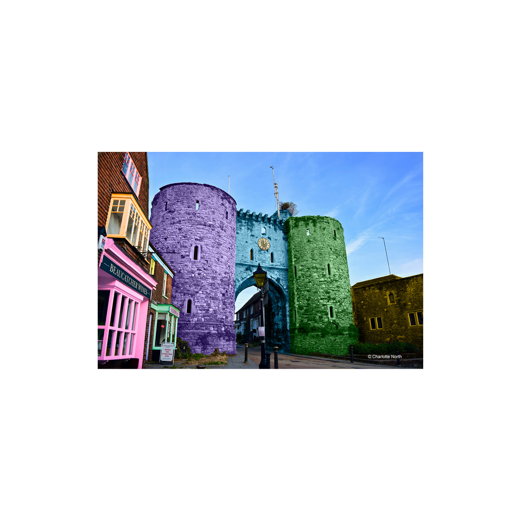 Charlotte North - The Landgate Tower Rye Print