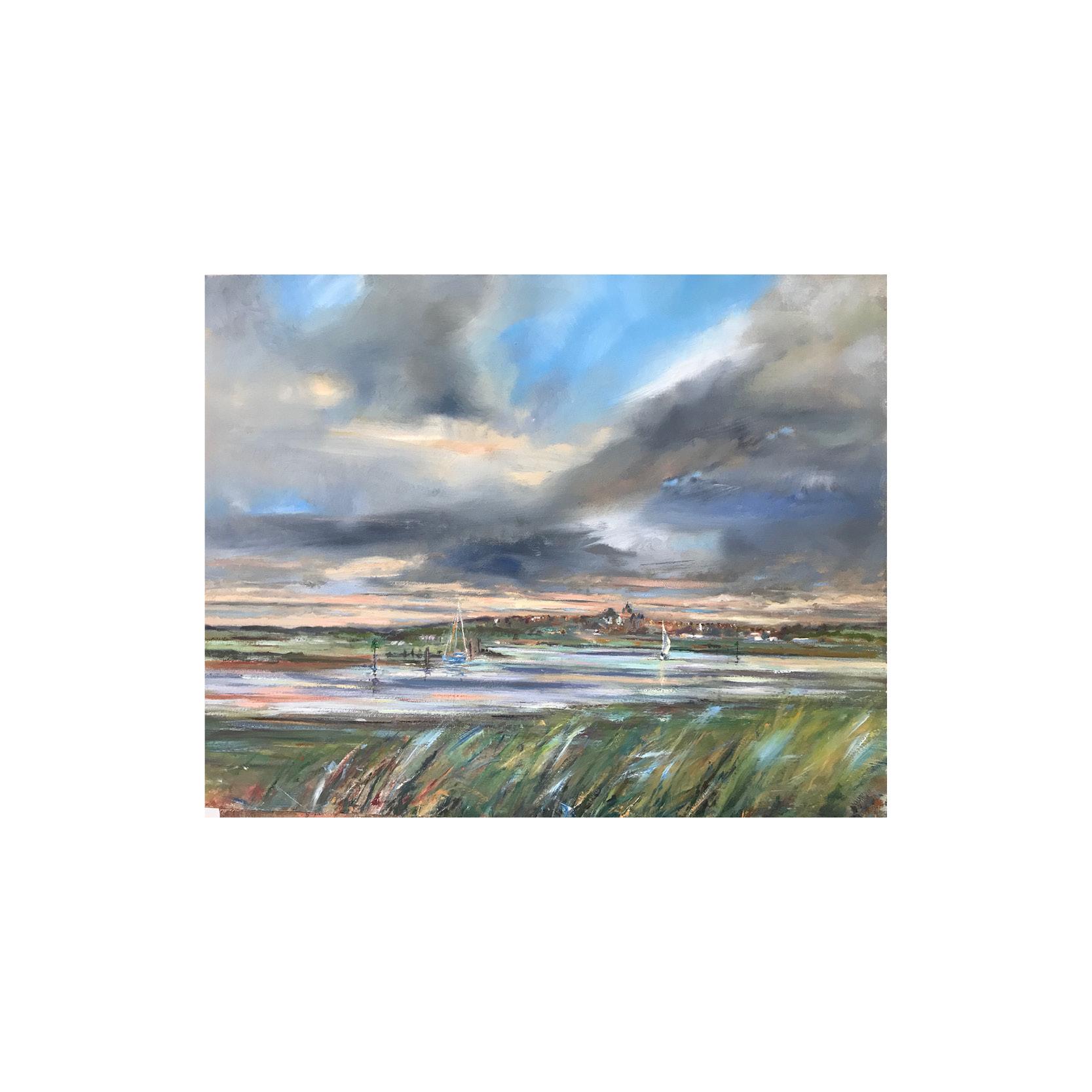 Georgie Watson - River Walk Rye Print