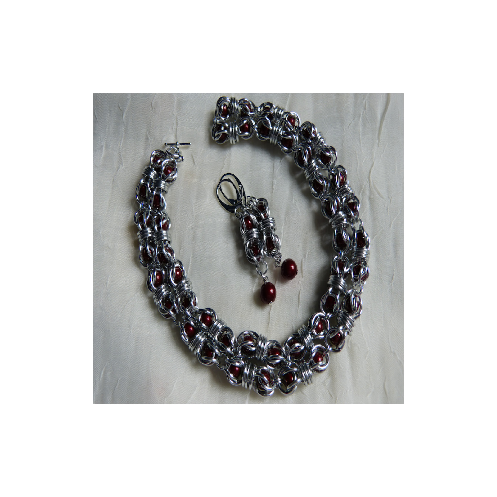Joy Davenport - Chain Maille necklace