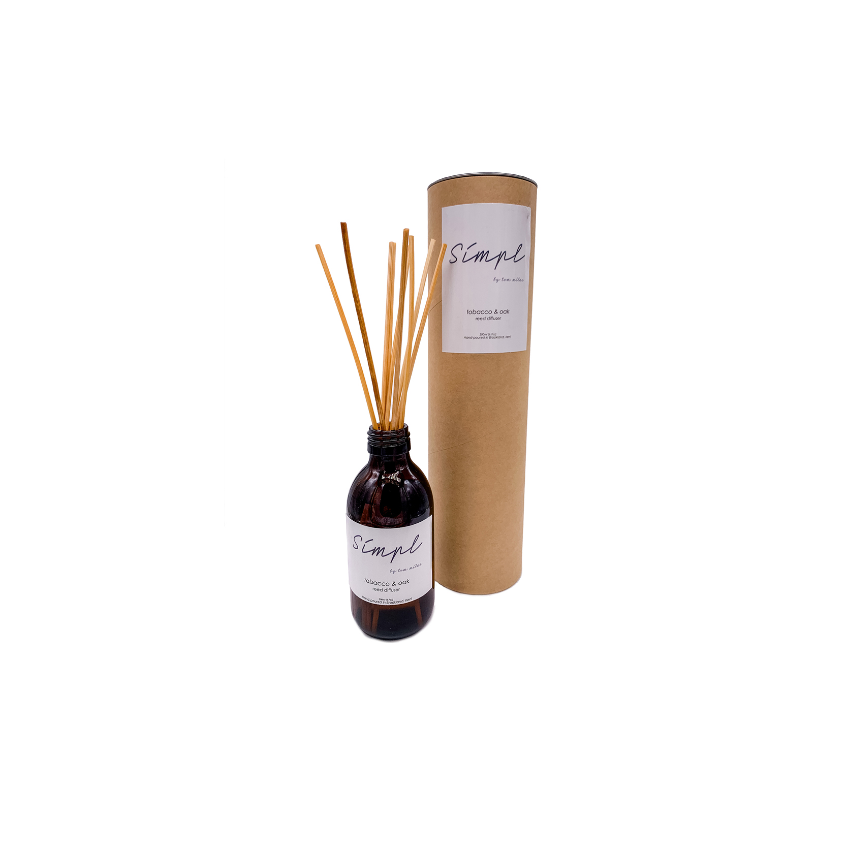 Simpl | Tom Milne - Tobacco and Oak Reed Diffuser