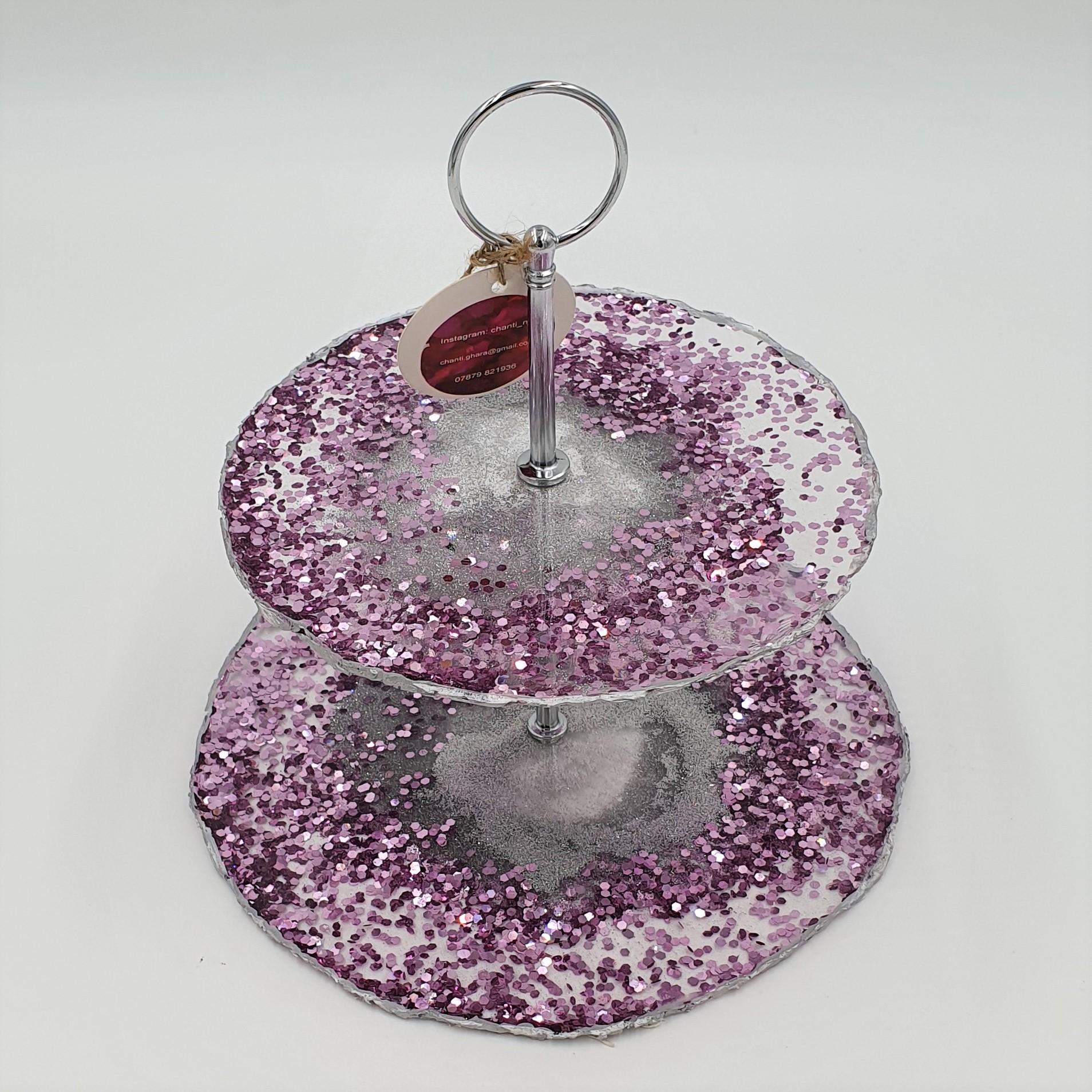 Chantal - PCS pink cake stand
