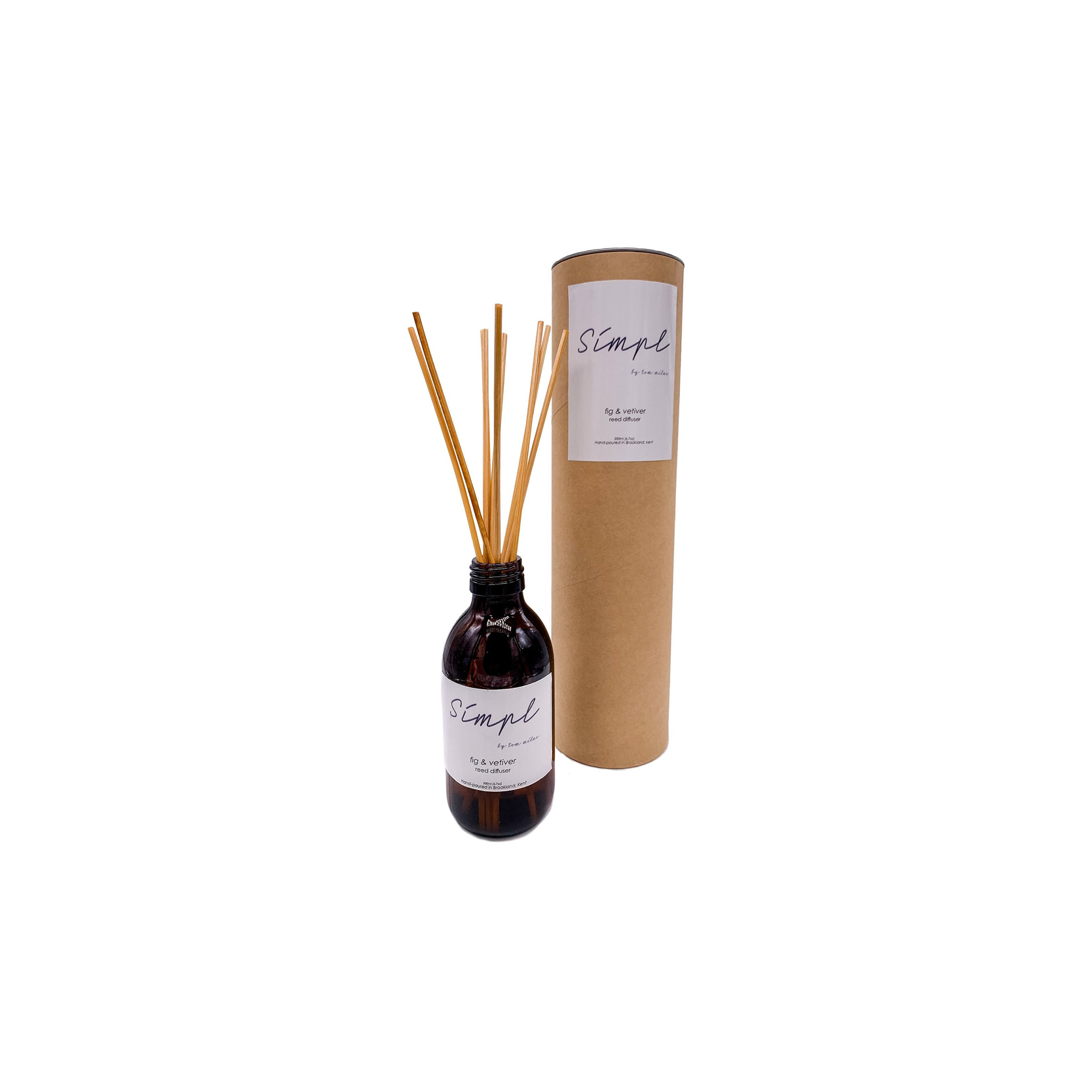 Simpl | Tom Milne - Fig and Vetiver Reed Diffuser