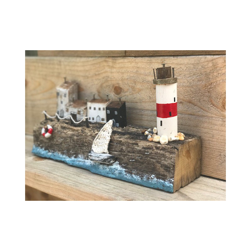 Emily Neal - Lighthouse cliffs