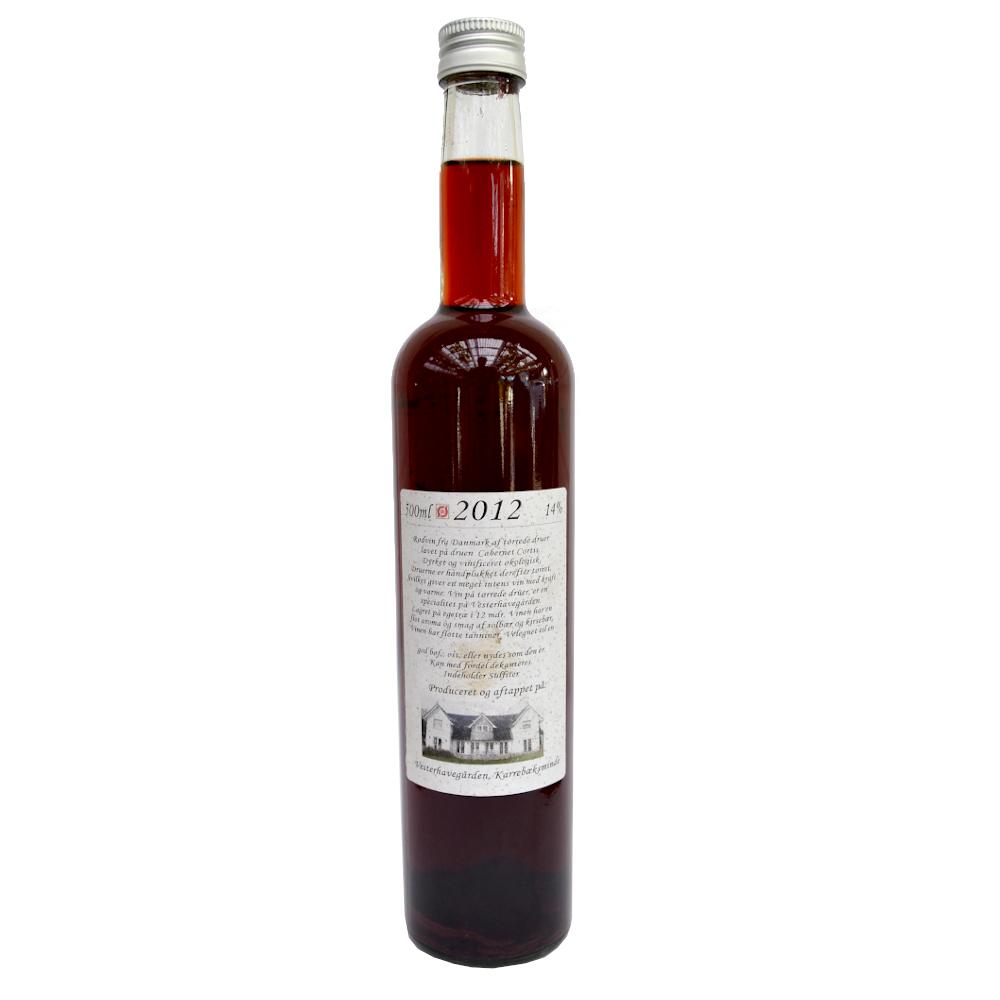 Rødvin,   2012, 14% Alc..   500ml,