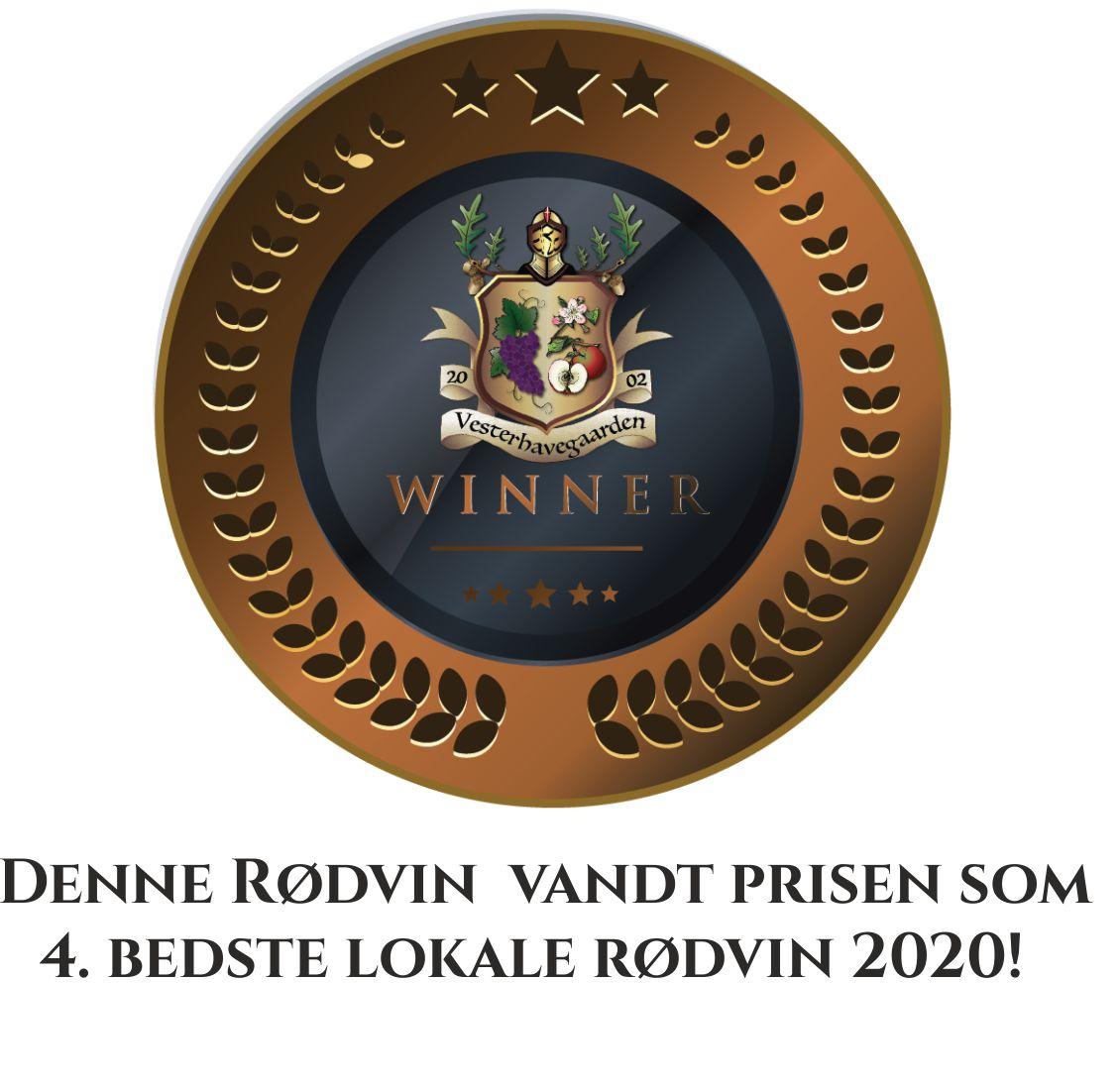 RØDVIN, BLÅ LAGUNE, 2018, 50cl.