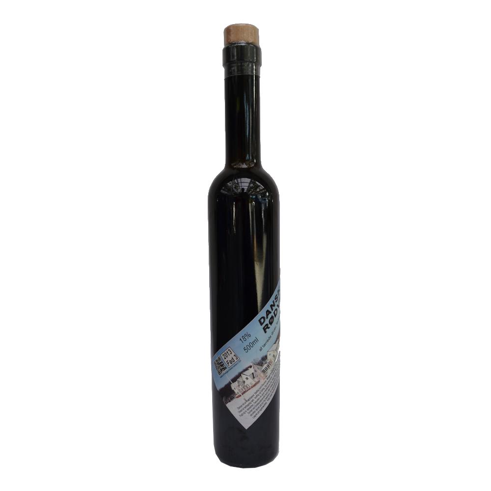 Rødvin fad 3,  2013, 15,5% Alc..   500ml,