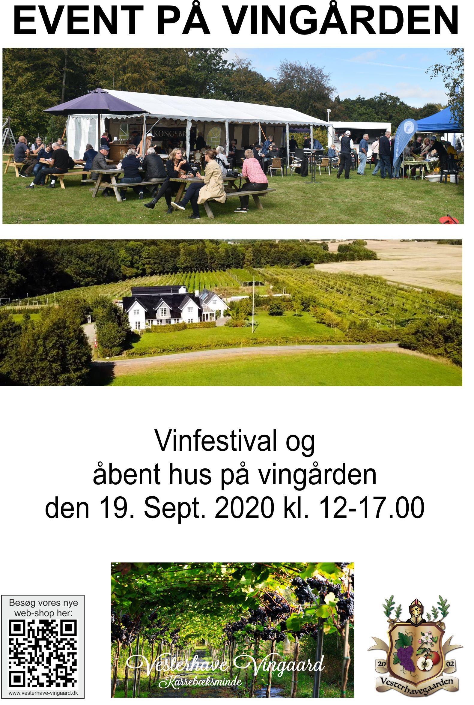 BORD reservation til Vinfestival 19.sept 2020