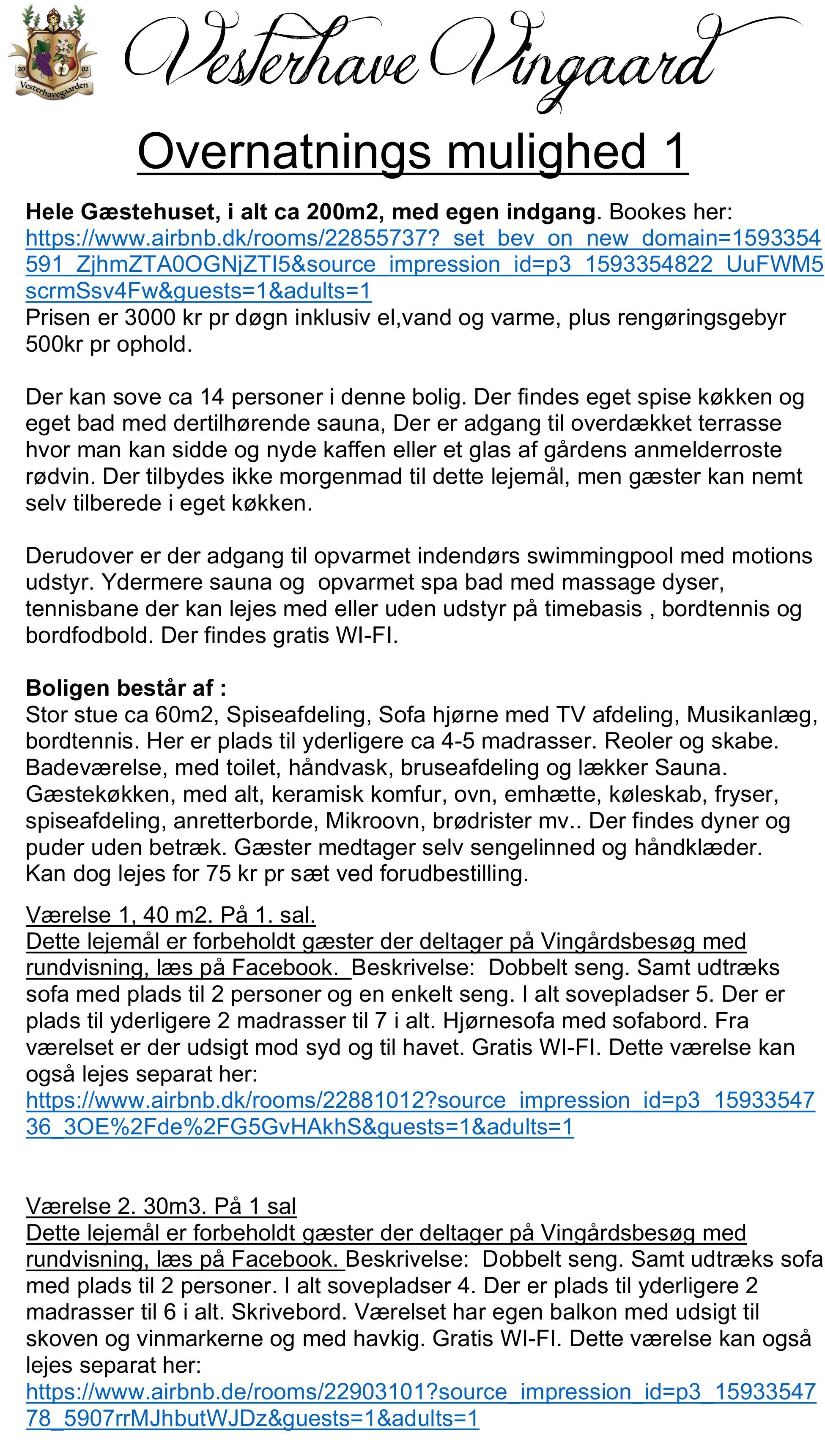 VINGÅRDSBESØG 9-25, MED RUNDVISNING 25.9.21 kl 15