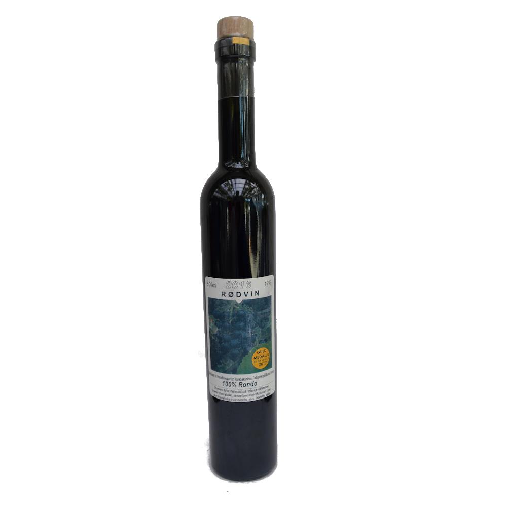Rødvin, Rondo Fælleseje  2016, 12% Alc..   500ml,