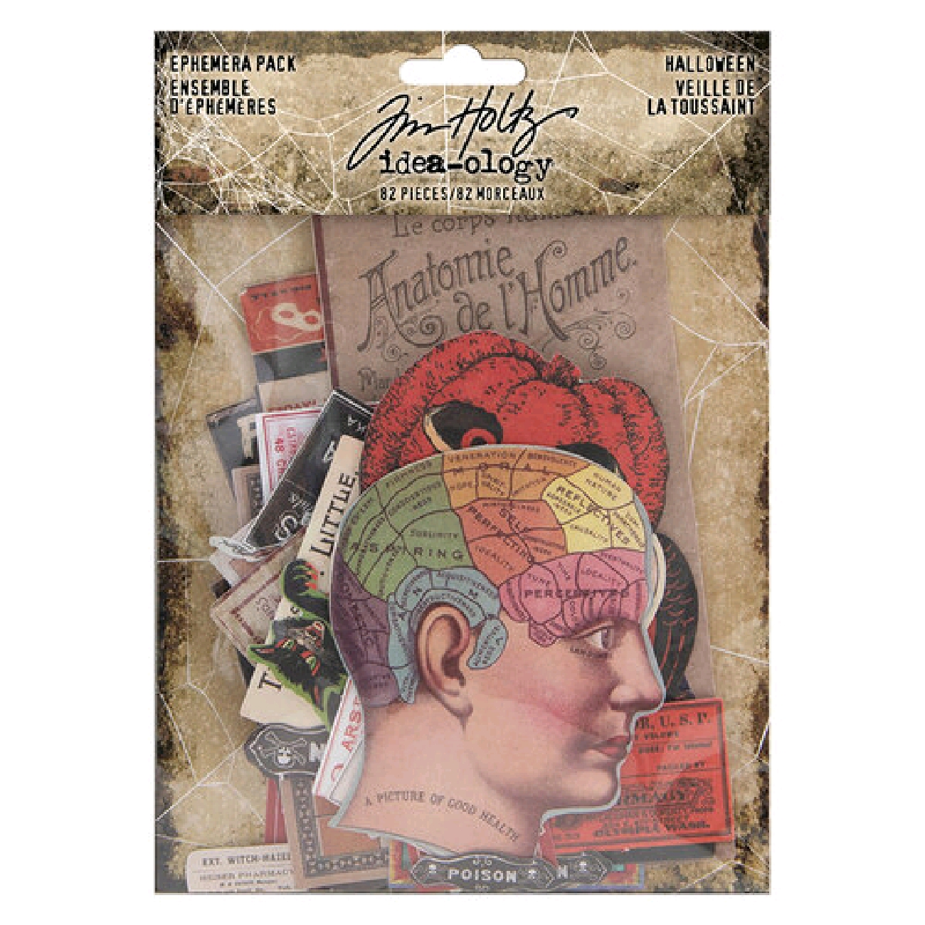 Tim Holtz Idea-ology - Halloween - Ephemera Pack