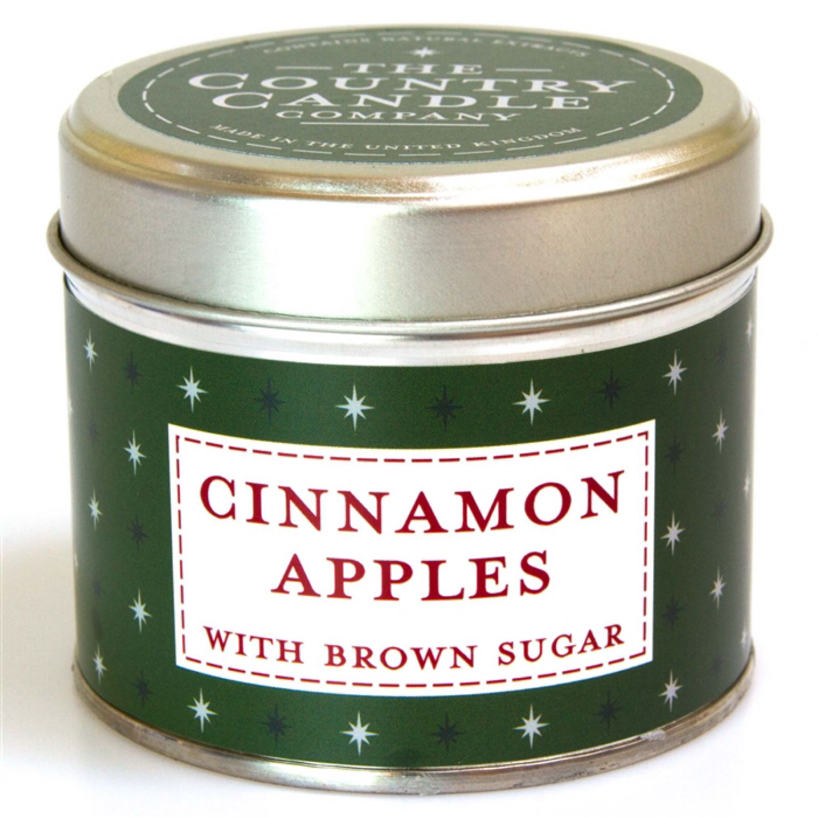 'Cinnamon Apples' Candle in a Tin