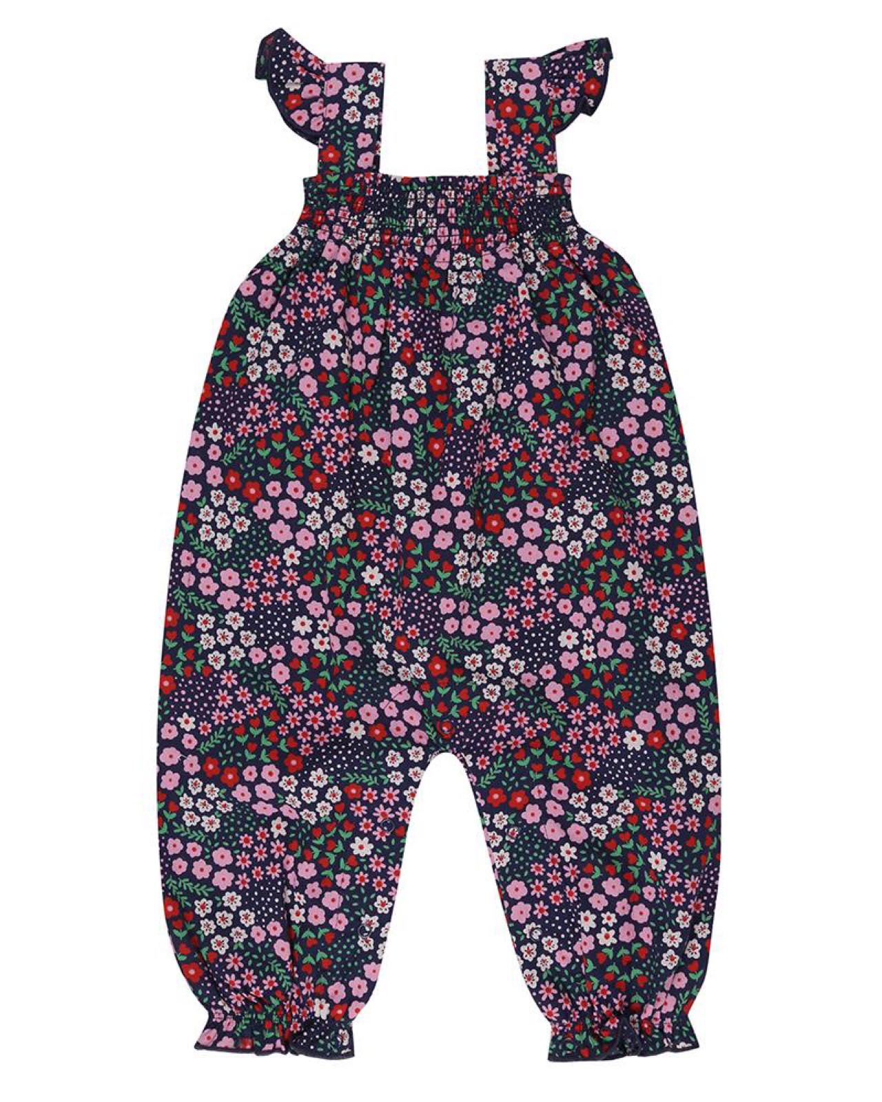 Lilly + Sid - Ditsy Dungaree