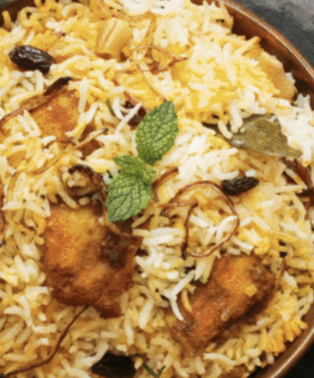 15. Chicken Biryani VL,G