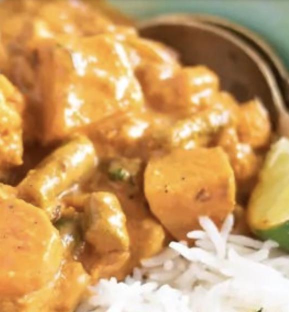 Lounas 1. Vegetable Curry (keskivahva) L,G,