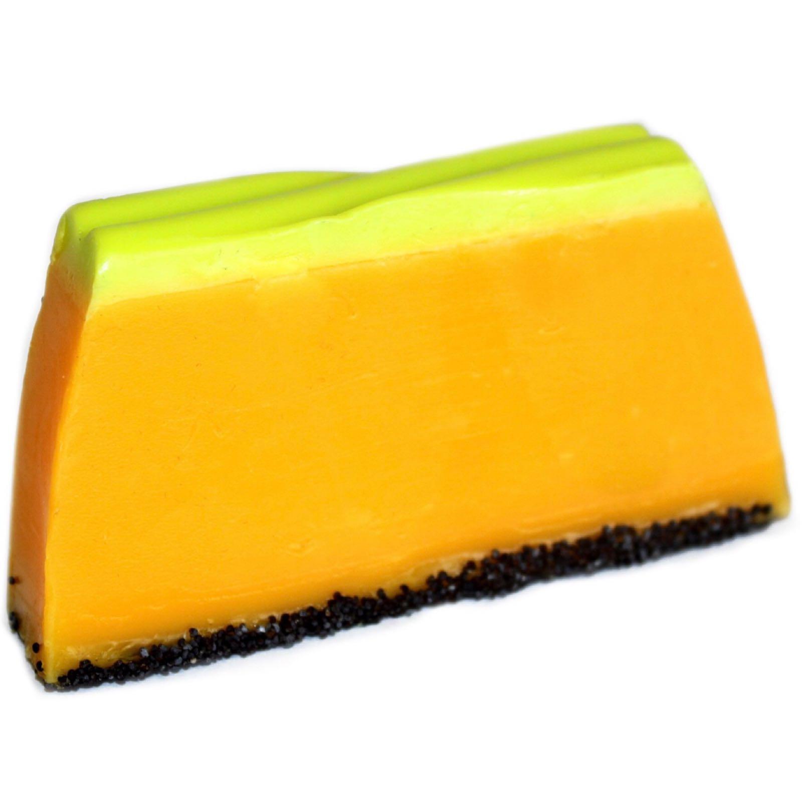 Papaya Soap Slice