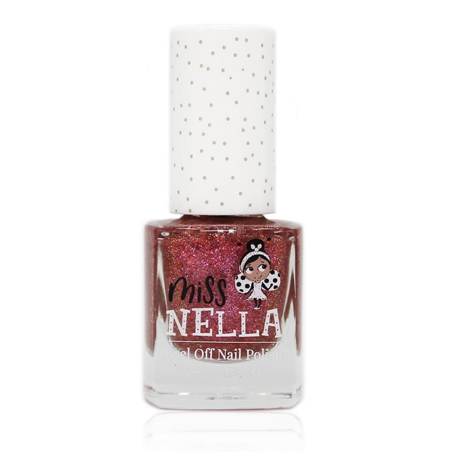 Miss Nella Peel Off Nail Polish - Shazam