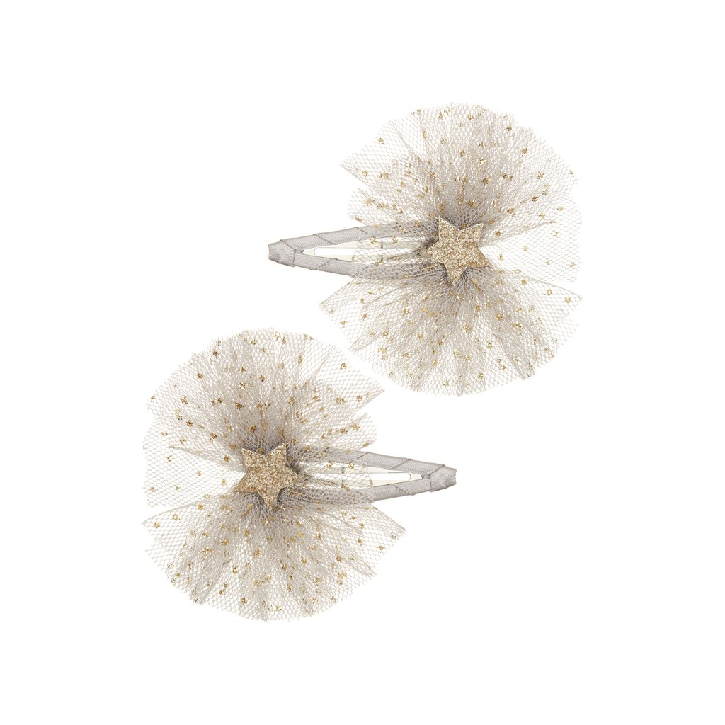 Mimi & Lula Ballet Stars Clips - Grey