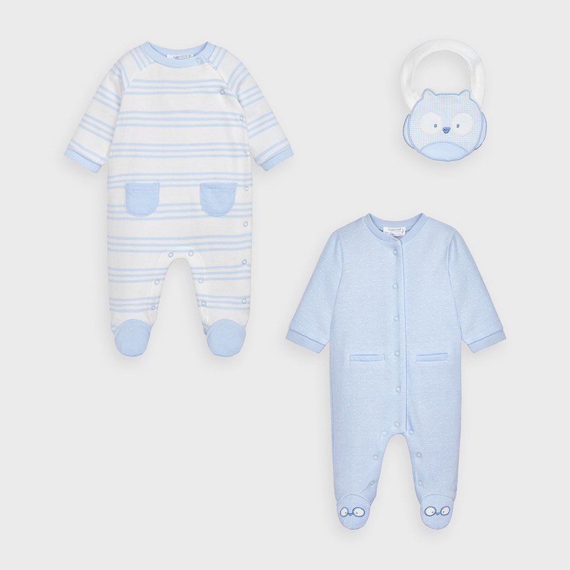 Mayoral Onesies Baby Blue (2763)
