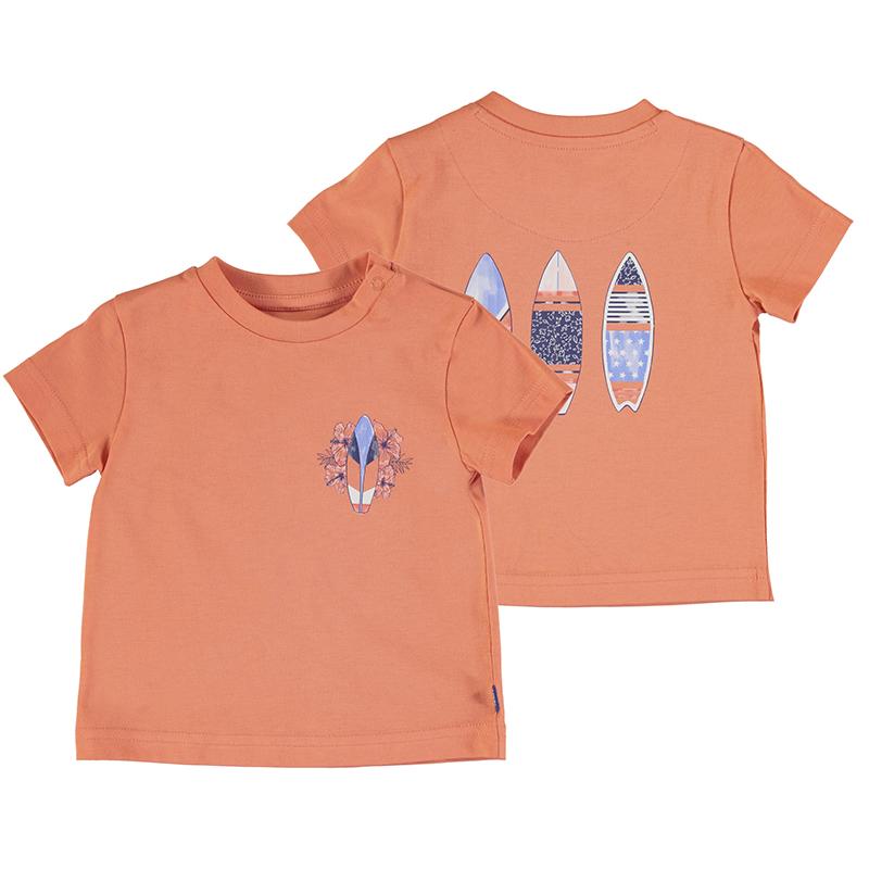 Mayoral T-Shirt-Pale Orange 1012