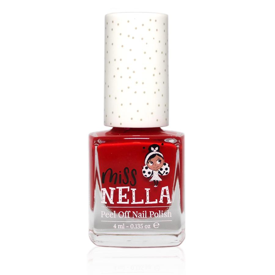 Miss Nella Peel Off Nail Polish - Strawberry N Cream