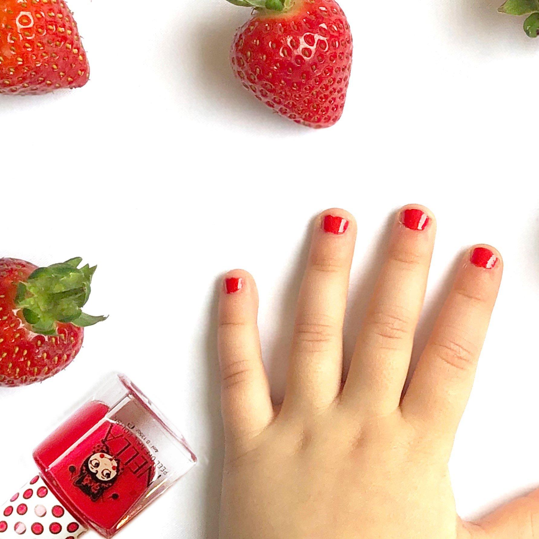Miss Nella Strawberry n Cream Peel Off Nail Polish