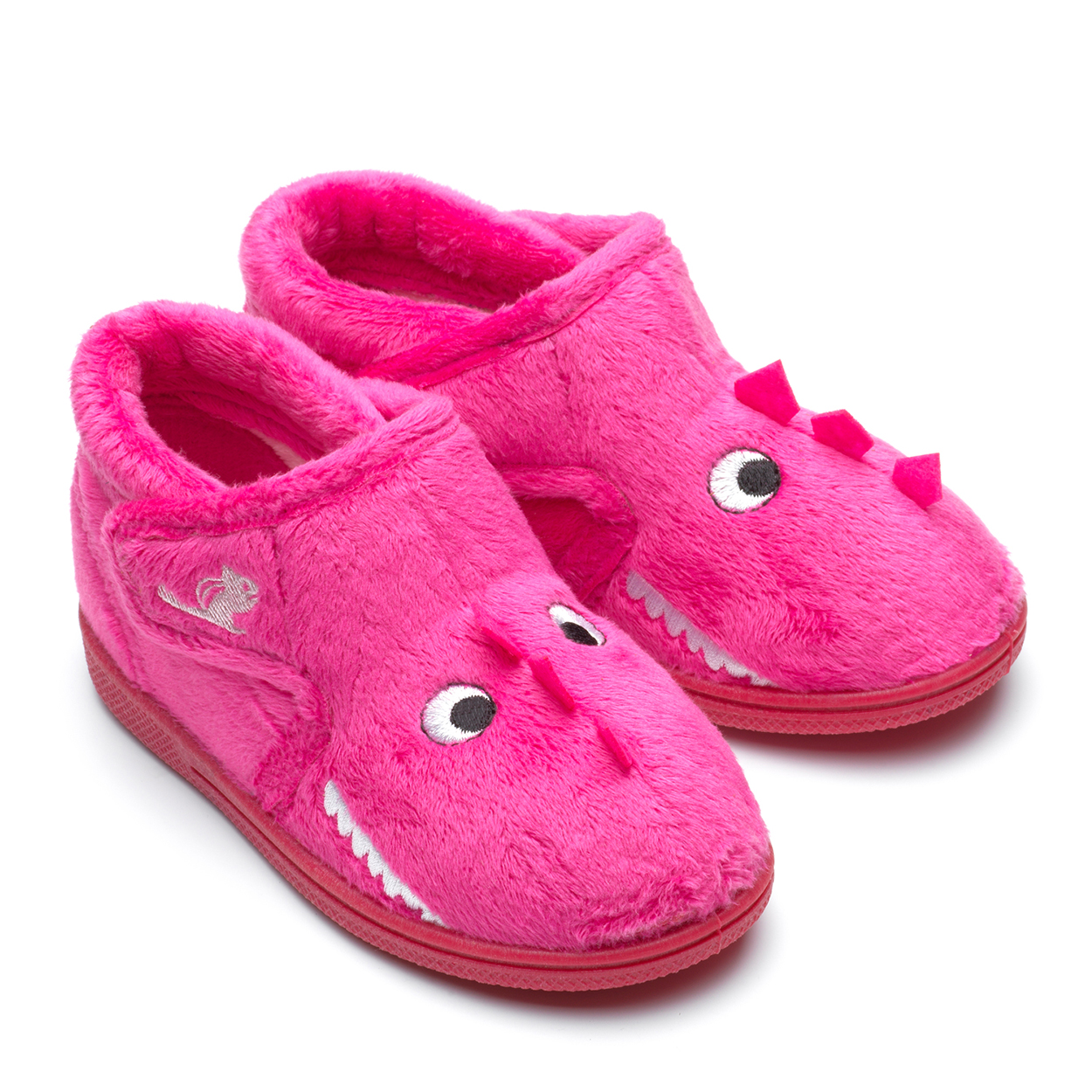 Chipmunks Daniella Dinosaur Pink Slipper