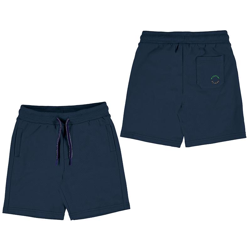 Mayoral Fleece Shorts-Navy 611