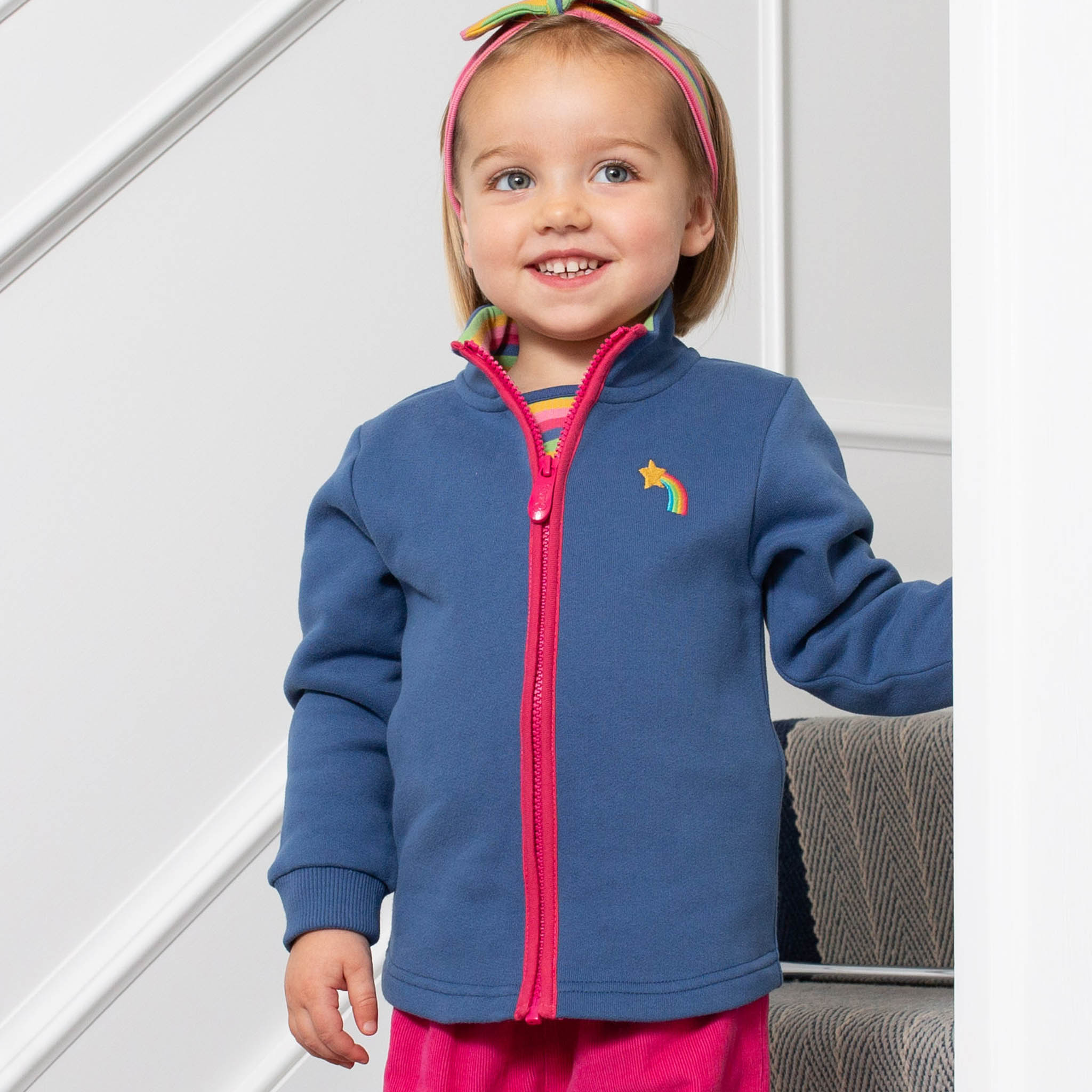 SALE £24.00 Kite Shooting Star Zip Top (was £30.00)