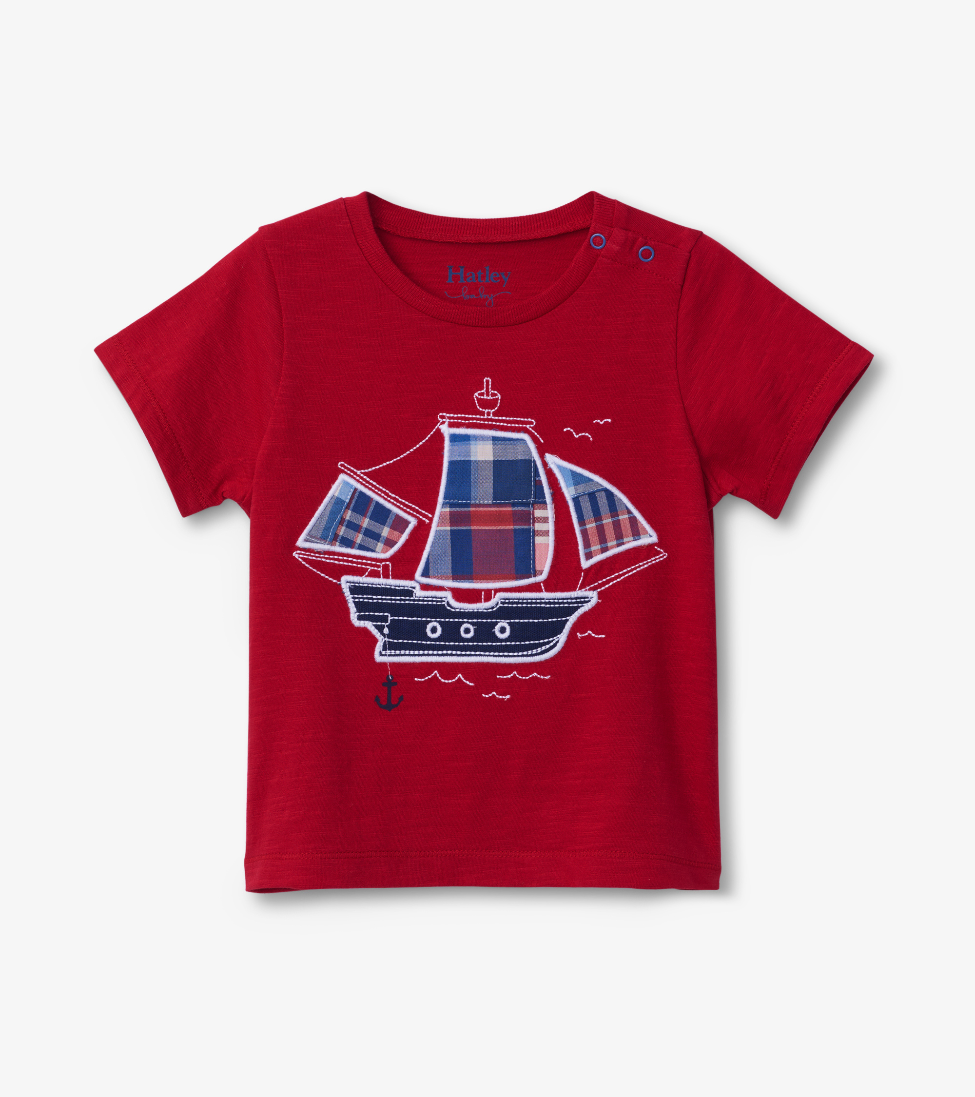 Hatley Nautical Ship Baby Graphic Tee