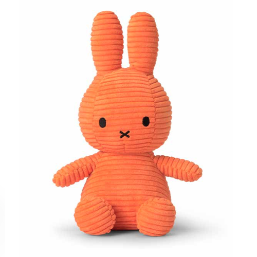 Miffy Corduroy Orange - 24 cm - 9.5