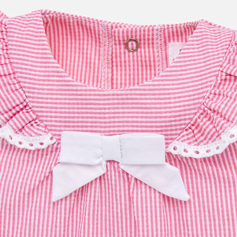 NOW £14 Mayoral Blouse & Shorts Set Pink/White (1139) (Was £28)