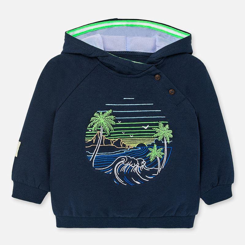 Mayoral Sweatshirt With Hood Navy (1452)