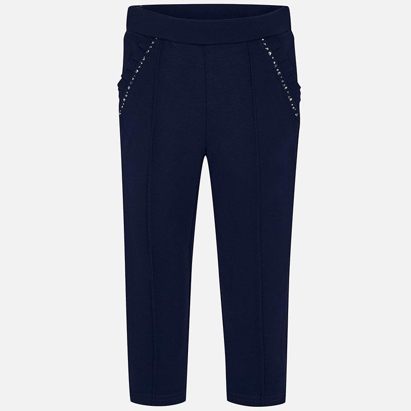 NOW £13 Mayoral Diamanté Trousers Navy (4501) (Was £27)