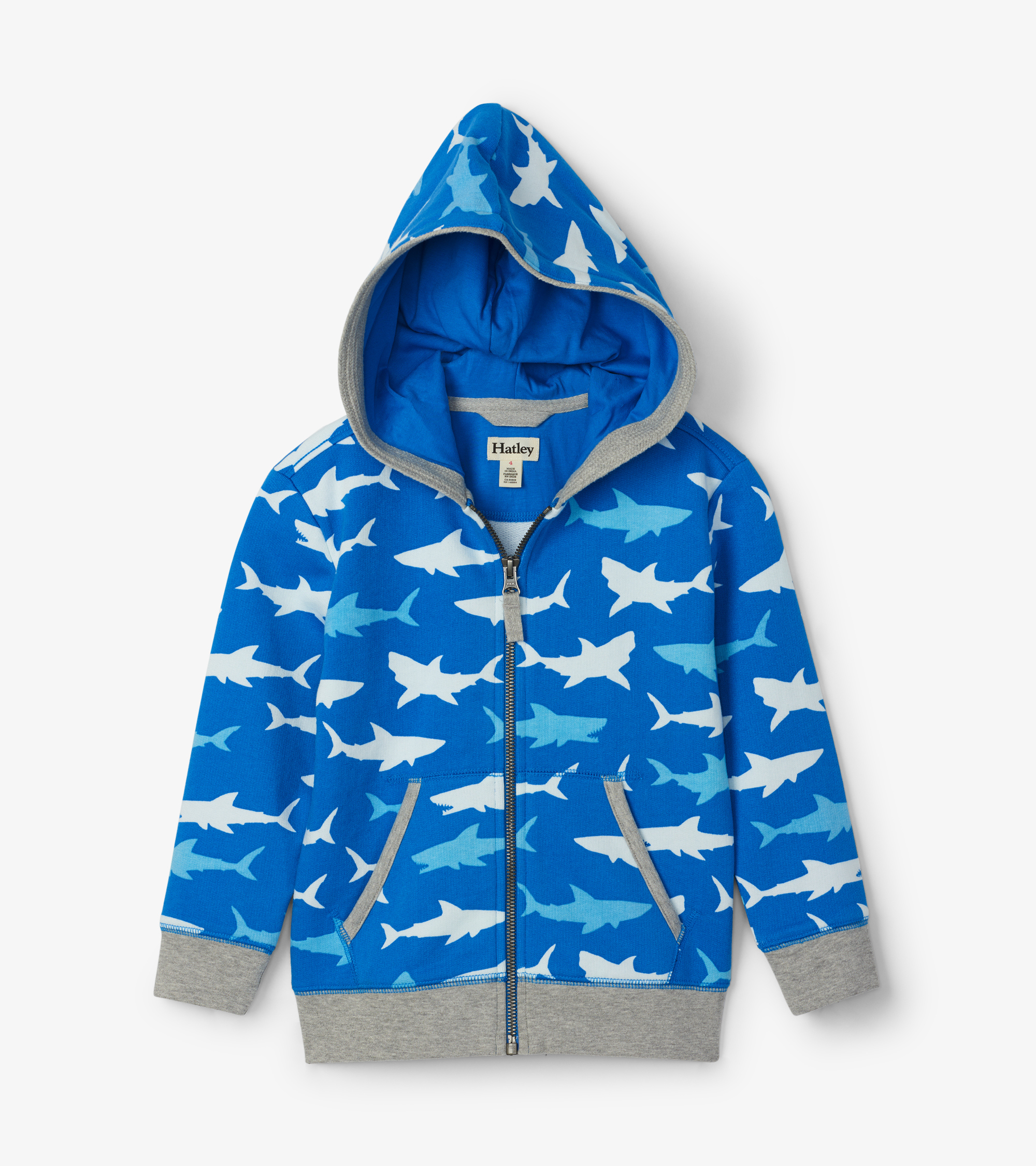 Hatley Great White Sharks Hoodie
